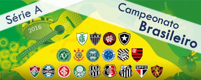 Clubes Participantes Campeonato Brasileiro Série A 2016