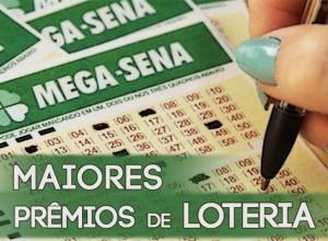 Maiores prêmios de loteria