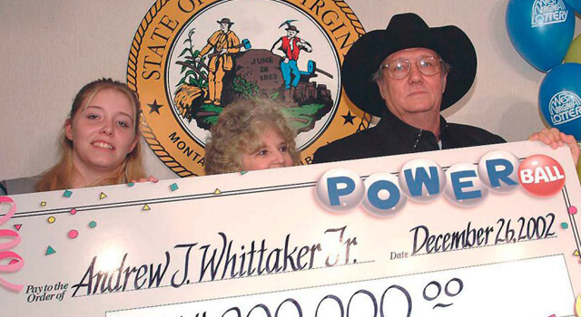 Loteria Jack Whittaker