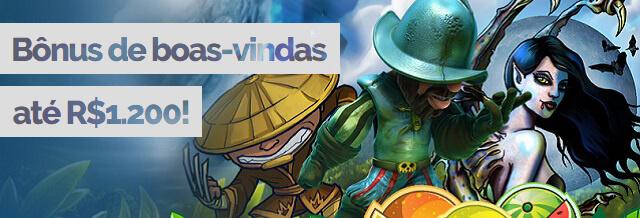 Bônus Boas-Vindas Cassino R$1.200