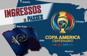 Copa América ingressos
