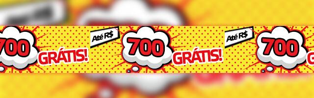 Promoção R$700 Grátis Betmotion