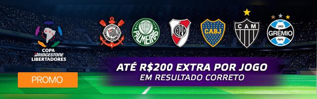 Promoção Copa Libertadores Betmotion