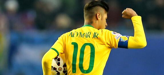 Neymar Número 10 Selecção Brasileira