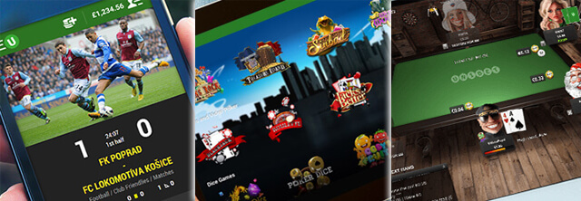 Apps Unibet Apostas, Spin City, Poker