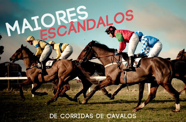 Escândalos em Corridas de Cavalos