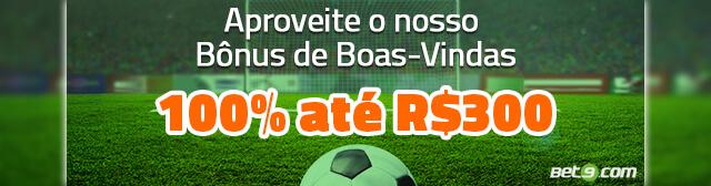Promoção Bônus de Boas-Vindas Bet9
