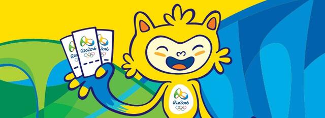 Mascote Vinicius Jogos Rio 2016