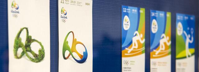 Ingressos Comemorativos Jogos Rio 2016