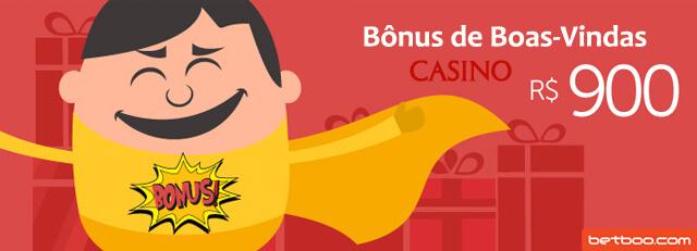 Bônus de Boas-Vindas Casino Betboo