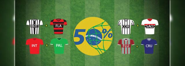 Promoção Gols nos Clássicos Brasileirão Betboo