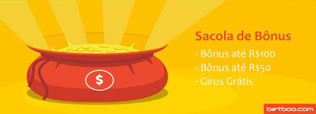 Promoção Sacola de Bônus Betboo