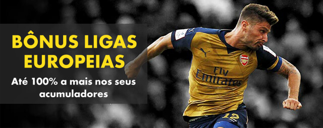 Bônus Ligas Europeias Bet365