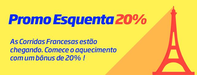 Promo Esquenta Bônus Jockey Rio PMU Brasil