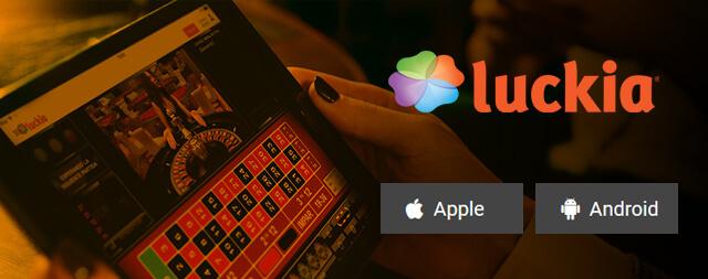 App Aplicação Móvel Mobile Luckia