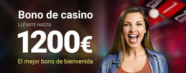 Bônus de Boas-Vindas Casino Luckia
