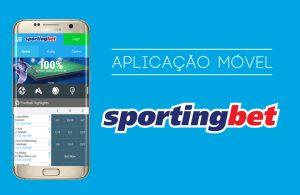 Aplicação Móvel Sportingbet
