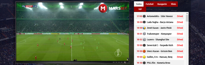 Transmissão Ao Vivo Marsbet Live Streaming