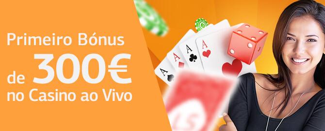 Bônus de Boas Vindas Casino