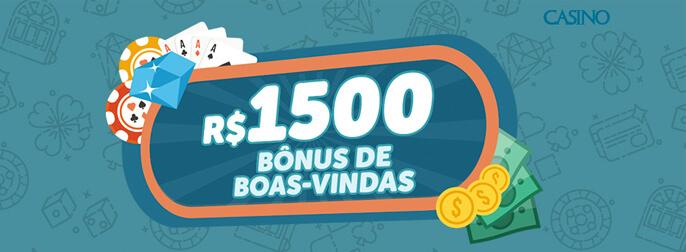 Bonus boas vindas 1500