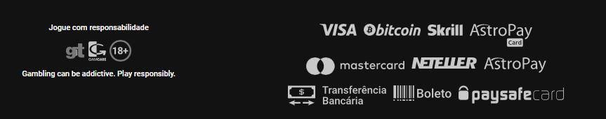 Marjosports opções de pagamento