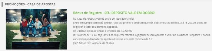Bonus De Registro