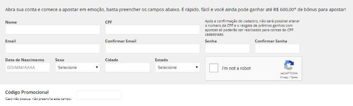 PMU Brasil Cadastre-se