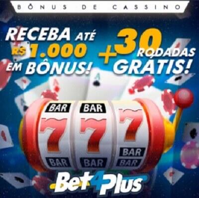 Bet4Plus Bônus Boas-vindas do Cassino