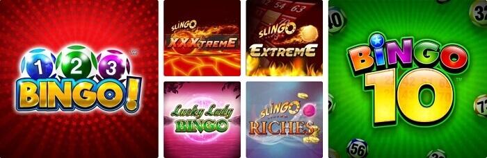 Betboo Bingo Oferta de Jogos