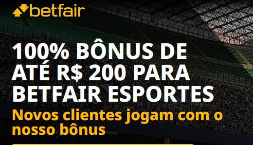 Betfair bonus esportes