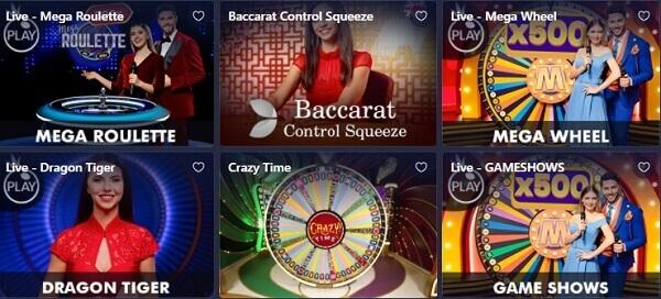Betmaster Jogos de Casino ao Vivo