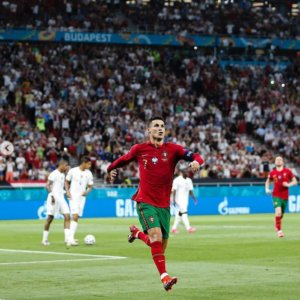 Cristiano Ronaldo em ação