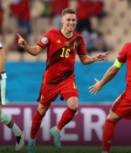 Thorgan Hazard marcou o gol do jogo
