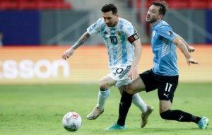 Messi - Argentina x Uruguai