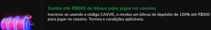 Vie.bet Bônus Cassino