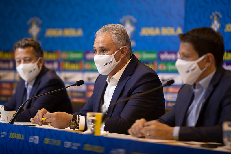 Tite convoca a Seleção Brasileira