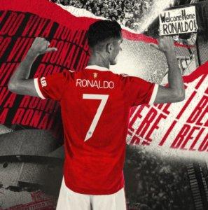 Cristiano Ronaldo é o novo reforço do United