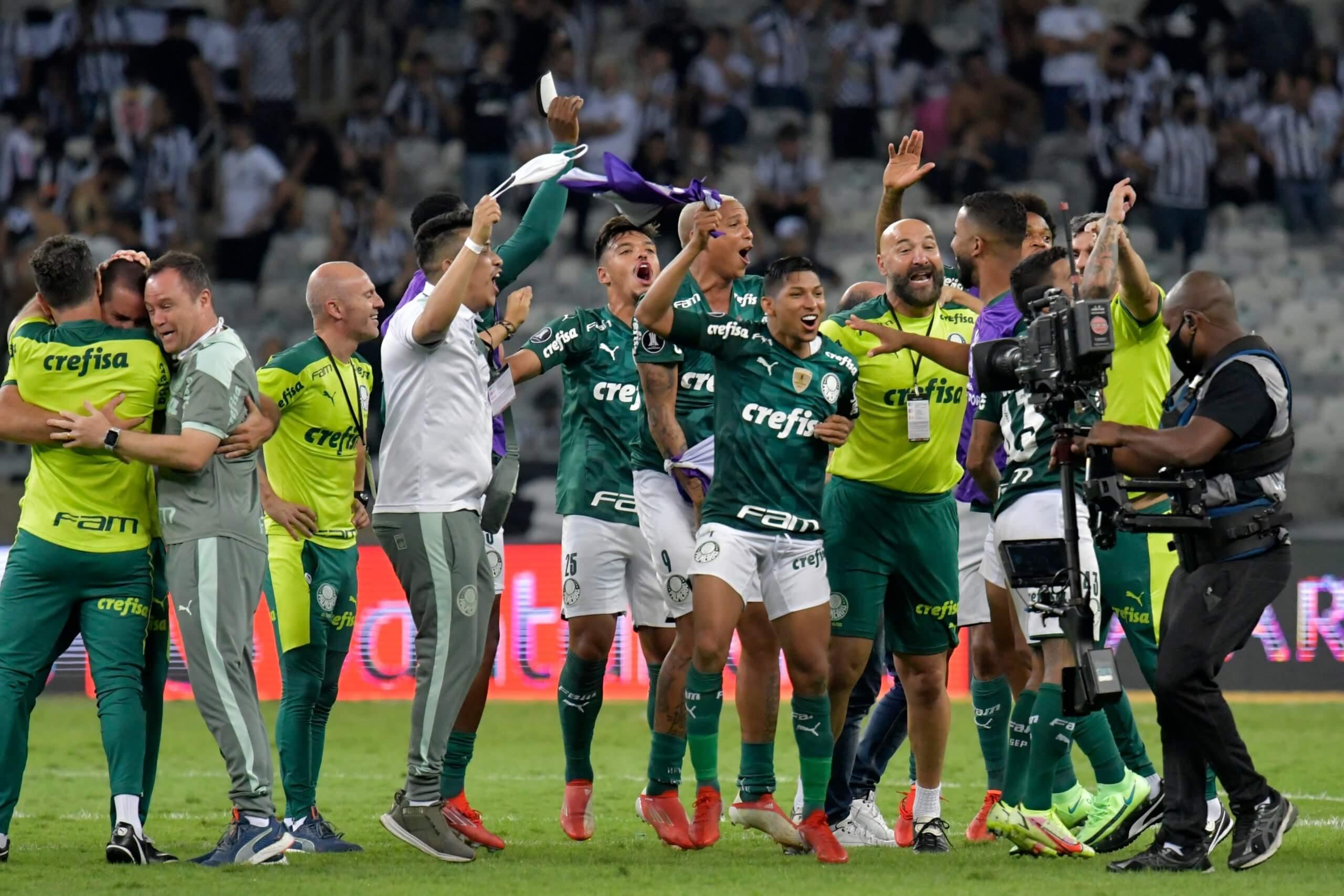 Palmeiras classificado