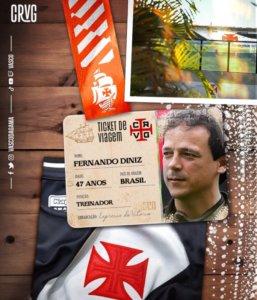Fernando Diniz é o novo técnico do Vasco