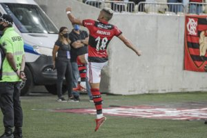 Andreas Pereira comemora